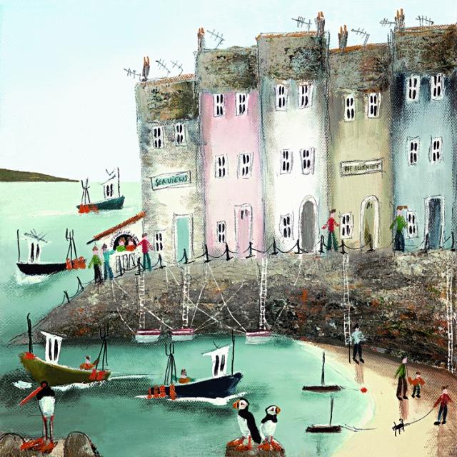 Seaside Stories II by Rebecca Lardner