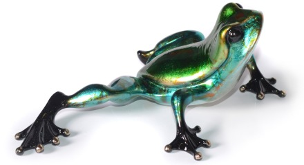 Master Toad - UK Exclusive - Frogman Bronze Sculpture by Tim Cotterill
