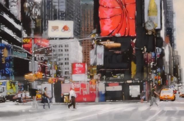 Detail taken from - Times Square, NYC By Joe Bowen