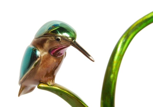 Frogman - Hummingbird Bird Sculpture 2013 by Tim Cotterill