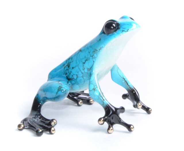 Jasmine - Bronze Frogman Sculpture by Tim Cotterill. Taken from the High Tea Collection
